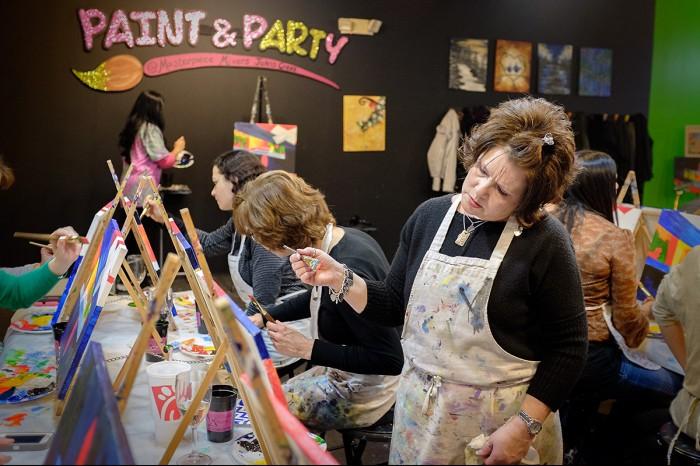 Kathy - Artist at Work
