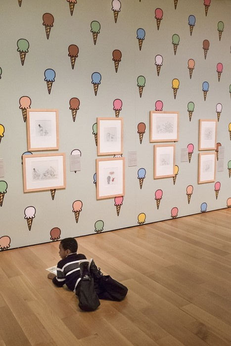 "Participating - Mo Willems' ""Serious Silly"" Exhibit"