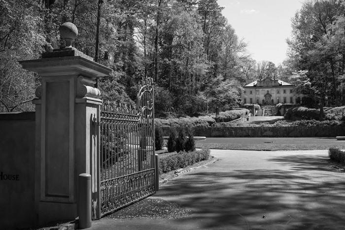 Gate at Swan House, Atlanta History Center
