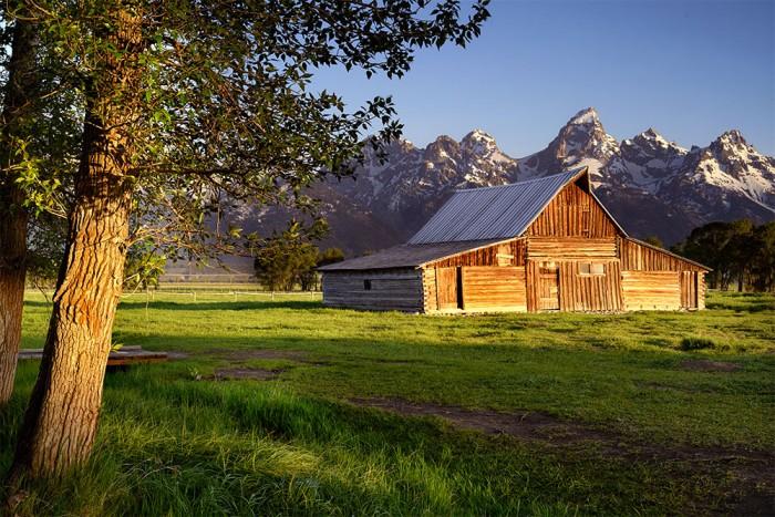 Moulton Barn - Mormon Row, GTNP