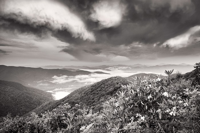 Descending Skies near Craggy Gardens - Blue Ridge Parkway (North of Asheville)