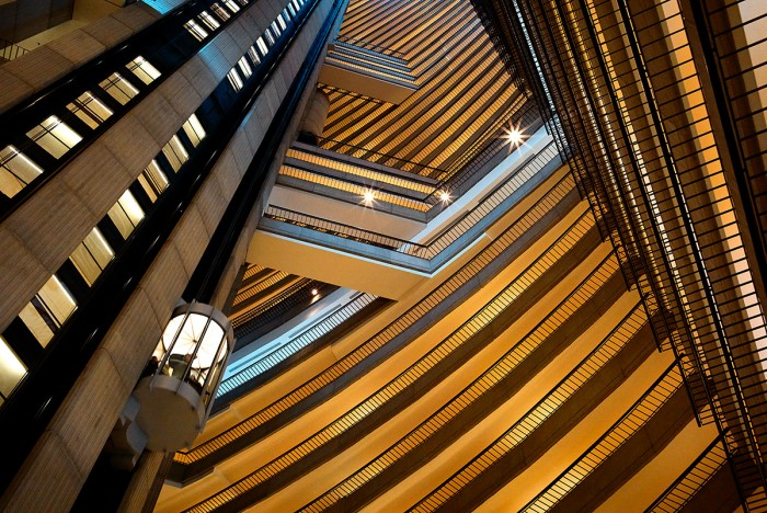 Elevator to the Sky - Marriott Marquis, Atlanta