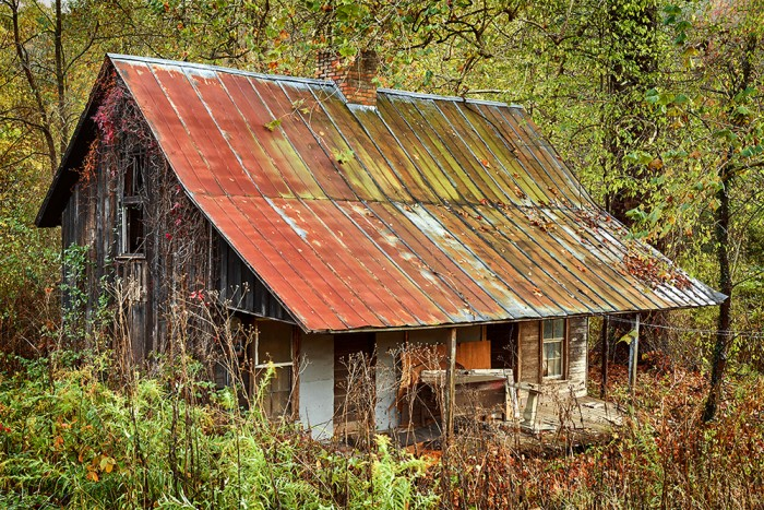Tin Roof .... Rusted!
