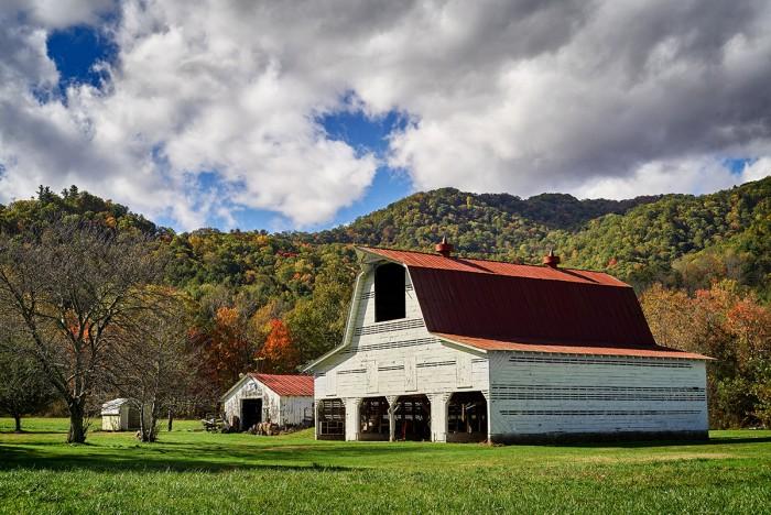 Barn near Trust, NC