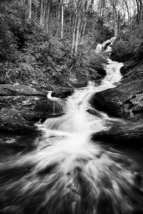 Roaring Fork Falls, Pisgah National Forest, NC