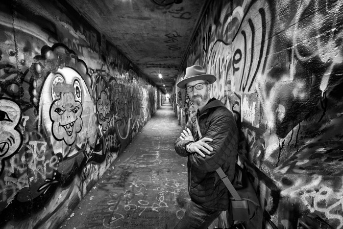 Krog Street Tunnel - Self Portrait