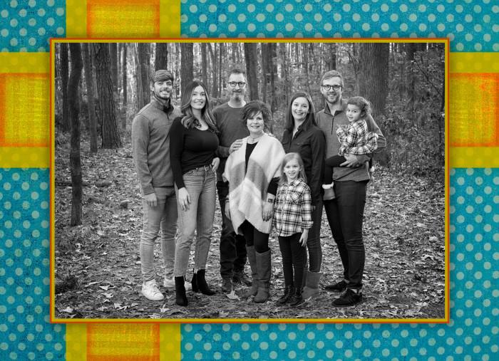 Family Card - Christmas, 2019