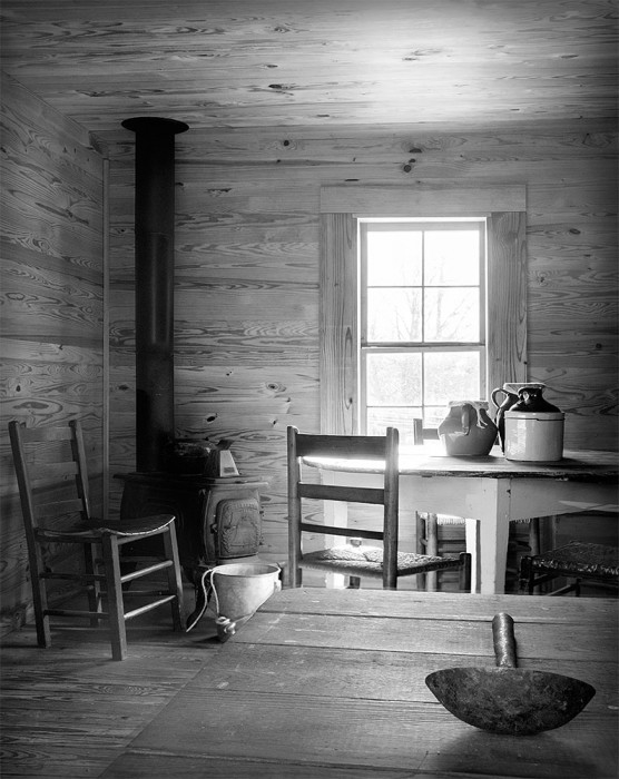 Primitive Cabin - McDaniel Farms