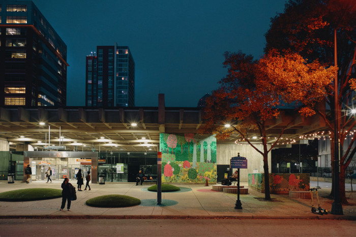 Midtown Station @ Dusk - Atlanta